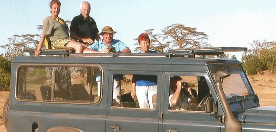 How times have changed! The new modern Land Rovers are extremely well adapted for game viewing and off-roading.