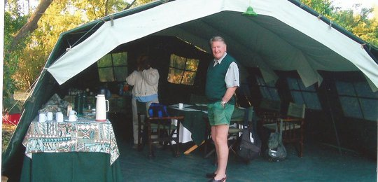 Our spacious mess tents